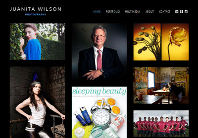Fully responsive website for a Queensland based photographer